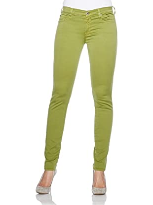 7 for all mankind Jeans The Skinny Colored Gummy (Leaf Green)