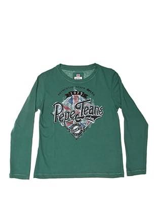 Pepe Jeans London Camiseta Liam (Verde)