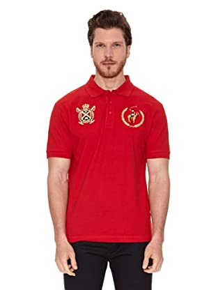 Polo Club Polo Custom Fit (Rojo)