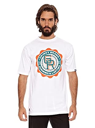Grimey Wear Camiseta Basic Uniform (Blanco / Verde)
