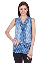 Style Quotient By NOI Women's Bow Front Shirt