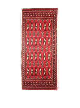 Eden Teppich Yamut mehrfarbig 45 x 100 cm