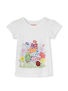 SwitchittZ Girl's Enchanted Garden Tee (White)