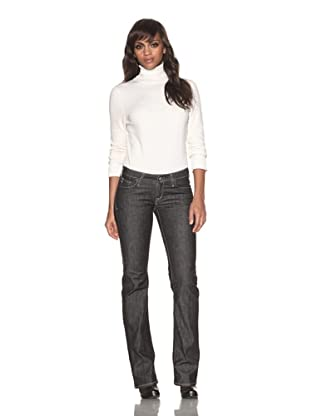 4 Stroke Women's West Filmore Low-Rise Bootcut Jeans (Blackdog/Black)