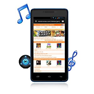Micromax Canvas Fun A76 (Blue)