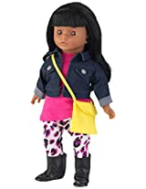 KidKraft Girl's African American Fay Fashionista Doll, Multi Color (18-inch)