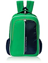 Tommy Hilfiger Marble Hill Polyester Green Children's Backpack (TH/BTS06MRH)