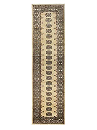 Bashian Rugs One-of-a-Kind Hand Knotted Paki Bukara Rug, Beige, 2' 8