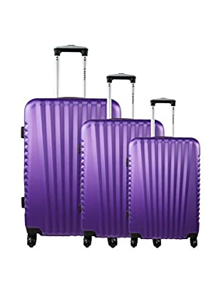 ZIFEL Set 3 Trolley Rigido Santiago
