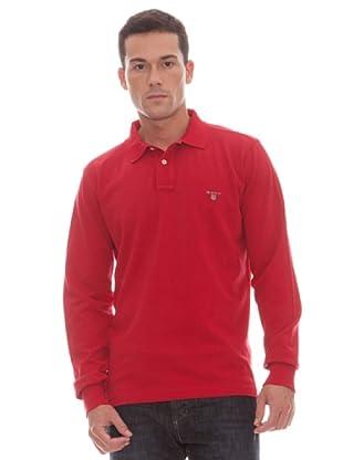 Gant Polo Liso (Rojo)