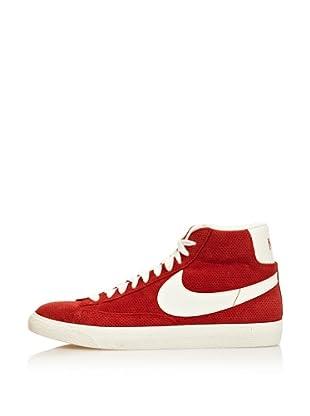 Nike Zapatillas Blazer Mid Prm Vntg Suede (Naranja / Blanco)