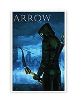 PosterGuy The Green Hood Arrow Fan ARt Poster (A4)