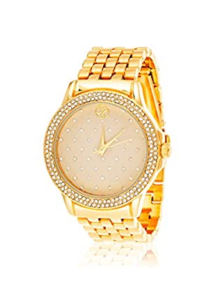 FORTUNE Women's NWY352888G-C Gold-Tone Stainless Steel Watch