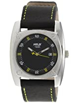 Helix Force Analog Black Dial Men's Watch - 13HG02