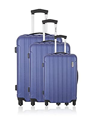 Travel One Set de 3 trolleys rígidos Crewed