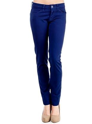 Caramelo Pantalón Básico (Azul)