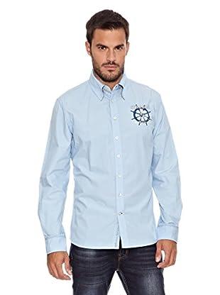 Paul Stragas Camisa (Azul Claro)