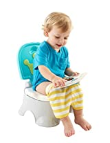 Fisher Price Royal Step Stool Potty (Multicolor)