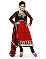 Nazaquat Elegant Maroon Anarkali Suit Salwar Kameez