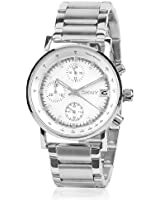 Dkny Chronograph White Dial Women's Watch - NY4331