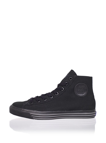 PRO-Keds Men's 69er Hi Canvas Sneaker (Black/black)
