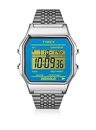 TIMEX Reloj de cuarzo Unisex Unisex 80 Classic Plateado / Azul 34 mm34 mm
