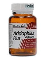 Health Aid Acidophilus Plus 4 billion - 60 Capsules