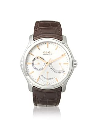 Ebel Men's 1215833 Classic Brown Leather Watch