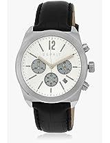 Es107571001_Sor Black/Silver Chronograph Watch Esprit