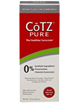 Cotz Pure Sunscreen Spf 30, 3 Ounce