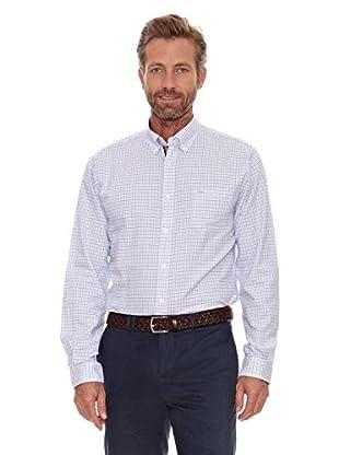 Cortefiel Camisa Tattershall (Azul)
