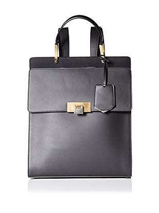 Balenciaga Women's Leather Backpack, Black