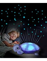 Bulfyss Twilight Constellation Night Light Turtle (Pack of 2 Pcs)