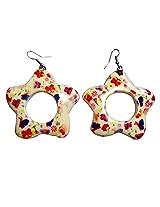 Beadworks Multicolor Earrings for Children