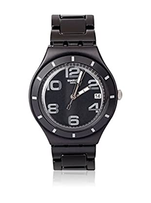 Swatch Quarzuhr Man ONLY BLACK YGB4008AG 38.0 mm