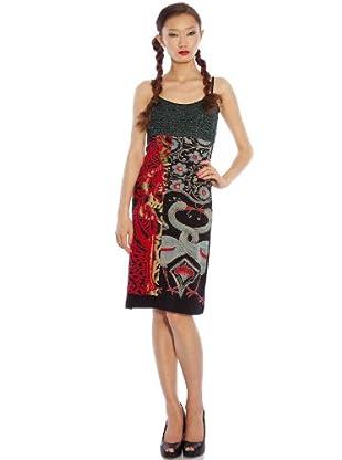 Custo Barcelona Kleid Ruri (Mehrfarbig)