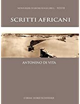 Scritti Africani (Monografie Di Archeologia Libica)