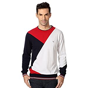 Allen Solly Color Blocked Sweater