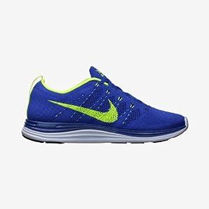 Nike Mens Flyknit Lunar1+ Royal/Blue Sports Shoes