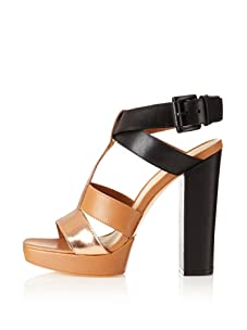 Elizabeth and James Women's Sam Platform Sandal (Rose Gold)