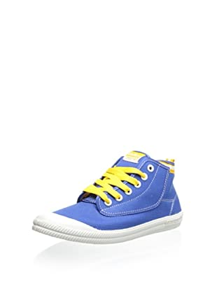 Volley Men's Volley High Leap Sneaker (Blue/Yellow)