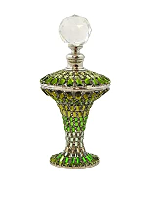 Bejeweled Perfume Bottle (Green)