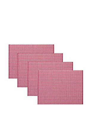 KAF Home Set of 4 Gingham Placemats