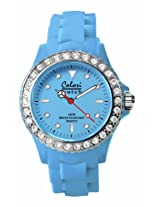 Colori Analog Blue Dial Women's Watch - 5-COL105