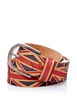 Pepe Jeans London Cinturón Llabra Belt (Rojo)