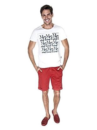 Giorgio Di Mare Camiseta Pireo (Blanco)