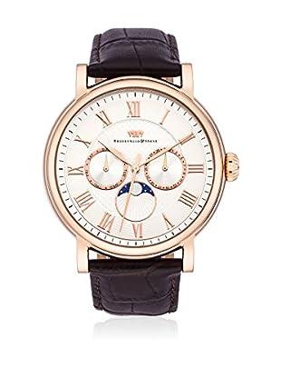 Rhodenwald & Söhne Reloj con movimiento cuarzo japonés 10010116 Pardo 44 mm