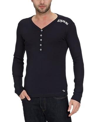 JACK & JONES T-Shirt Bridge Slim Fit (Negro)