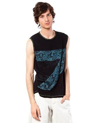 Custo Barcelona Shirt ärmellos Atrium (Schwarz)