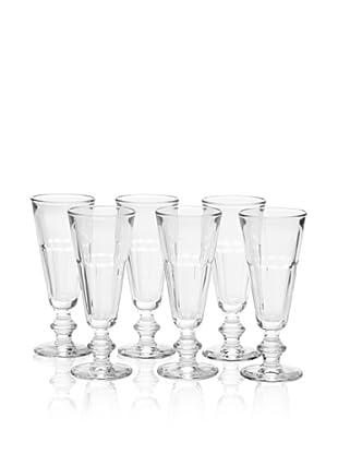La Rochère Set of 6 Perigord Champagne Flutes